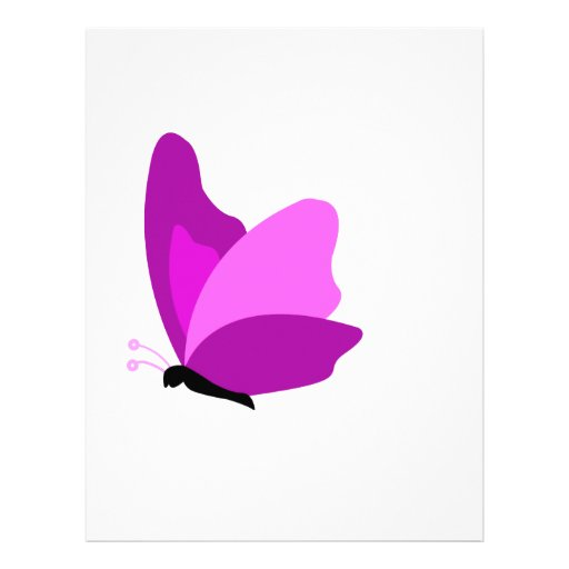 butterfly4 letterhead design