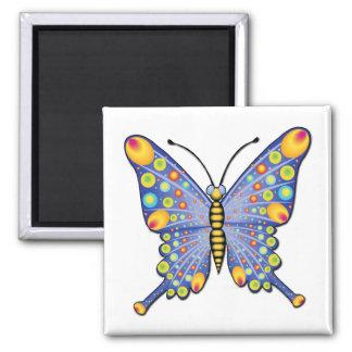 _Butterfly4W Fridge Magnets