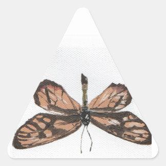 Butterfly6 Triangle Sticker