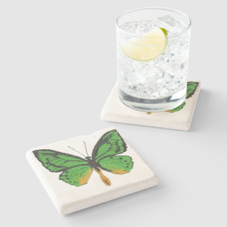 Butterfly8 Stone Coaster