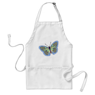 Butterfly - 01 adult apron