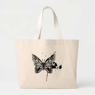Butterfly 10 ~ Butterflies Customize Template Jumbo Tote Bag