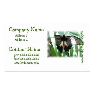 butterfly-163 tarjetas de visita