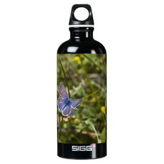 Butterfly 1 aluminum water bottle