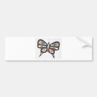 butterfly 1 car bumper sticker