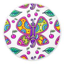 Butterfly 1 Ceramic Knob