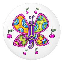 Butterfly 2 Ceramic Knob