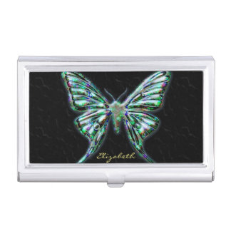 Butterfly 2 Image Options Business Card Case