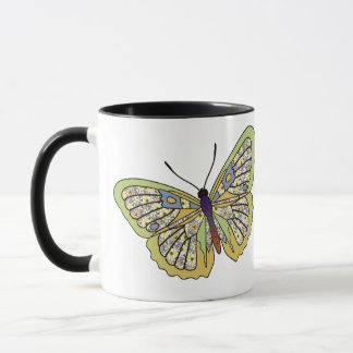 Butterfly - 35 - Yellow Mug