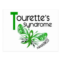 Butterfly 3.1 Tourette's Syndrome Postcard