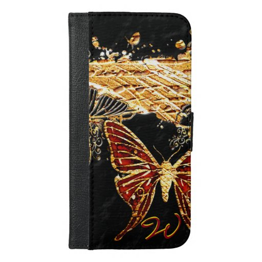 Butterfly 3 iPhone 6/6s plus wallet case