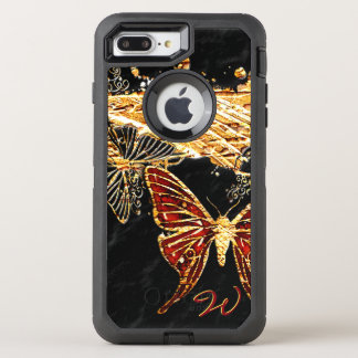 Butterfly 3 OtterBox defender iPhone 7 plus case