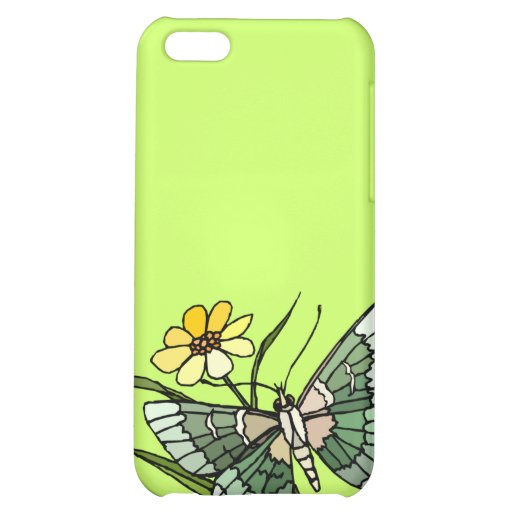Butterfly 4 cover for iPhone 5C