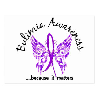 Butterfly 6.1 Bulimia Postcard