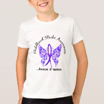Butterfly 6.1 Childhood Stroke T-Shirt