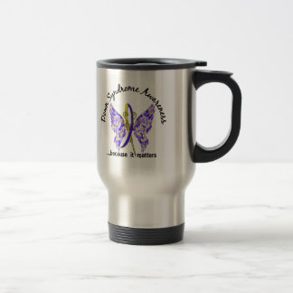 Butterfly 6.1 Down Syndrome 15 Oz Stainless Steel Travel Mug