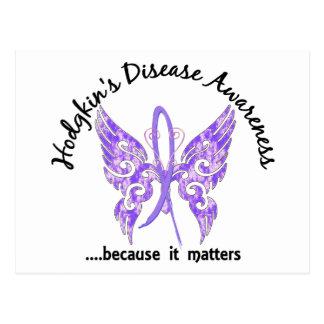 Butterfly 6.1 Hodgkin's Disease Postcard