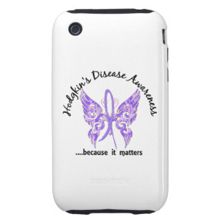 Butterfly 6.1 Hodgkin's Disease Tough iPhone 3 Cover