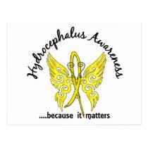 Butterfly 6.1 Hydrocephalus Postcard
