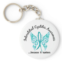 Butterfly 6.1 Interstitial Cystitis Keychain