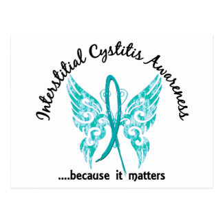 Butterfly 6.1 Interstitial Cystitis Postcard
