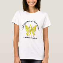 Butterfly 6.1 Osteosarcoma T-Shirt