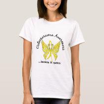 Butterfly 6.1 Osteosarcoma T-Shirt