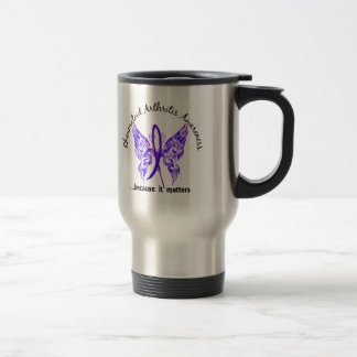 Butterfly 6.1 RA 15 Oz Stainless Steel Travel Mug