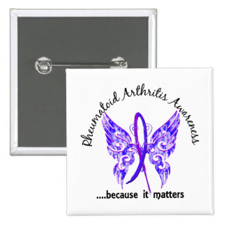 Butterfly 6.1 RA 2 Inch Square Button