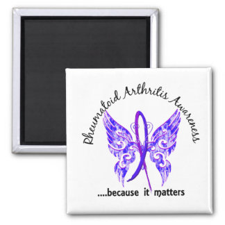 Butterfly 6.1 RA 2 Inch Square Magnet