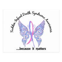 Butterfly 6.1 SIDS Postcard