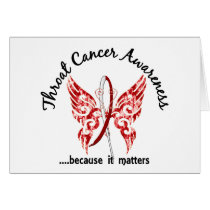 Butterfly 6.1 Throat Cancer Card