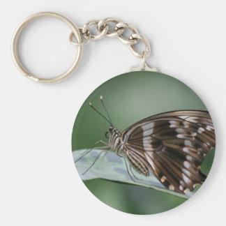 butterfly-87 basic round button keychain
