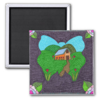 Butterfly--A vision Refrigerator Magnet