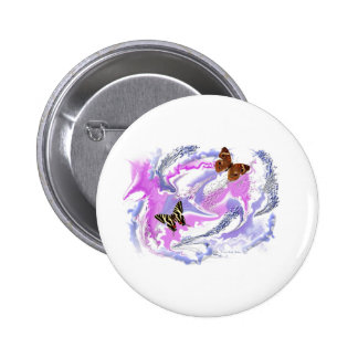 Butterfly abstract buttons