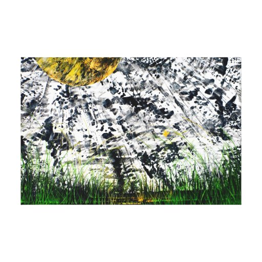 Butterfly Abstract Fine Art Wrapped Canvas Canvas Print