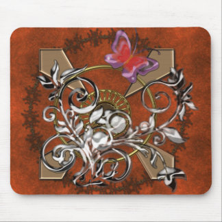 Butterfly Abstract Mouse Pad