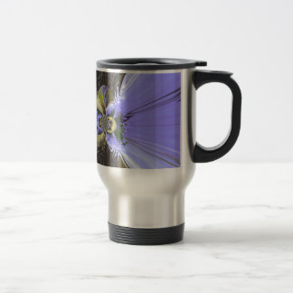 Butterfly Abstract 15 Oz Stainless Steel Travel Mug