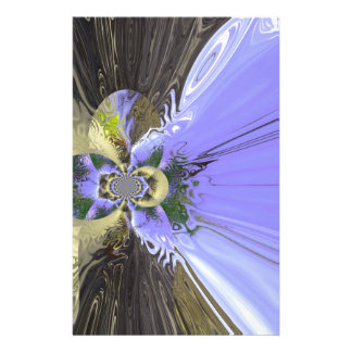 Butterfly Abstract Custom Stationery