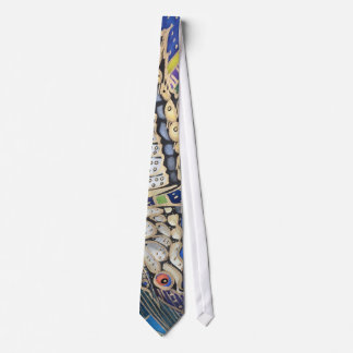 butterfly abstract tie