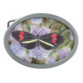 Butterfly aceo Belt Buckle