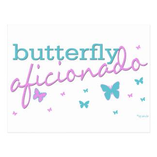 Butterfly Aficionado Postcard