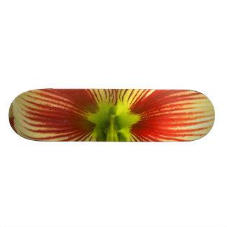 Butterfly Amaryllis Skateboard Deck