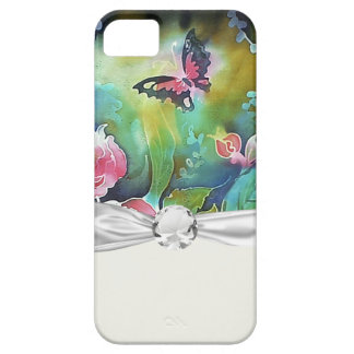 butterfly among the roses iPhone 5 covers