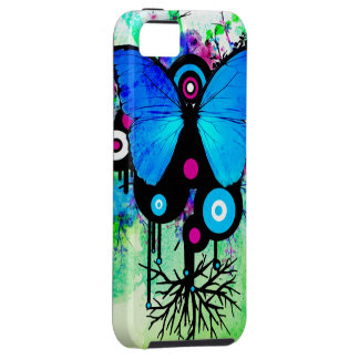 Butterfly and Alien Friends Iphone Case iPhone 5 Cover