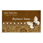Butterfly and Beads Double-Sided Standard Business Cards (Pack Of 100)