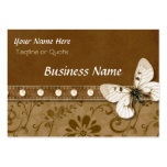 Butterfly and Beads Large Business Cards (Pack Of 100)