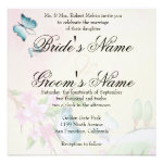 Butterfly and Blossoms Personalized Announcement