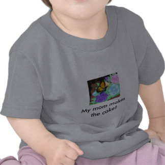 Butterfly and Buttercream Roses Infant T-Shirt