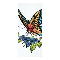 butterfly, butterflies, flowers, al rio, nature, animals, Convite com design gráfico personalizado